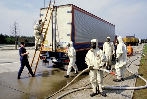 Control of the radioactivity in RFA in France on May 02, 1986-