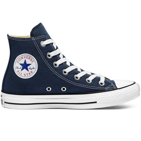 converse chuck taylor all star sneakers hoog unisex navy donker blauw schoenen