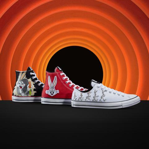 converse與兔寶寶80周年聯名帆布鞋