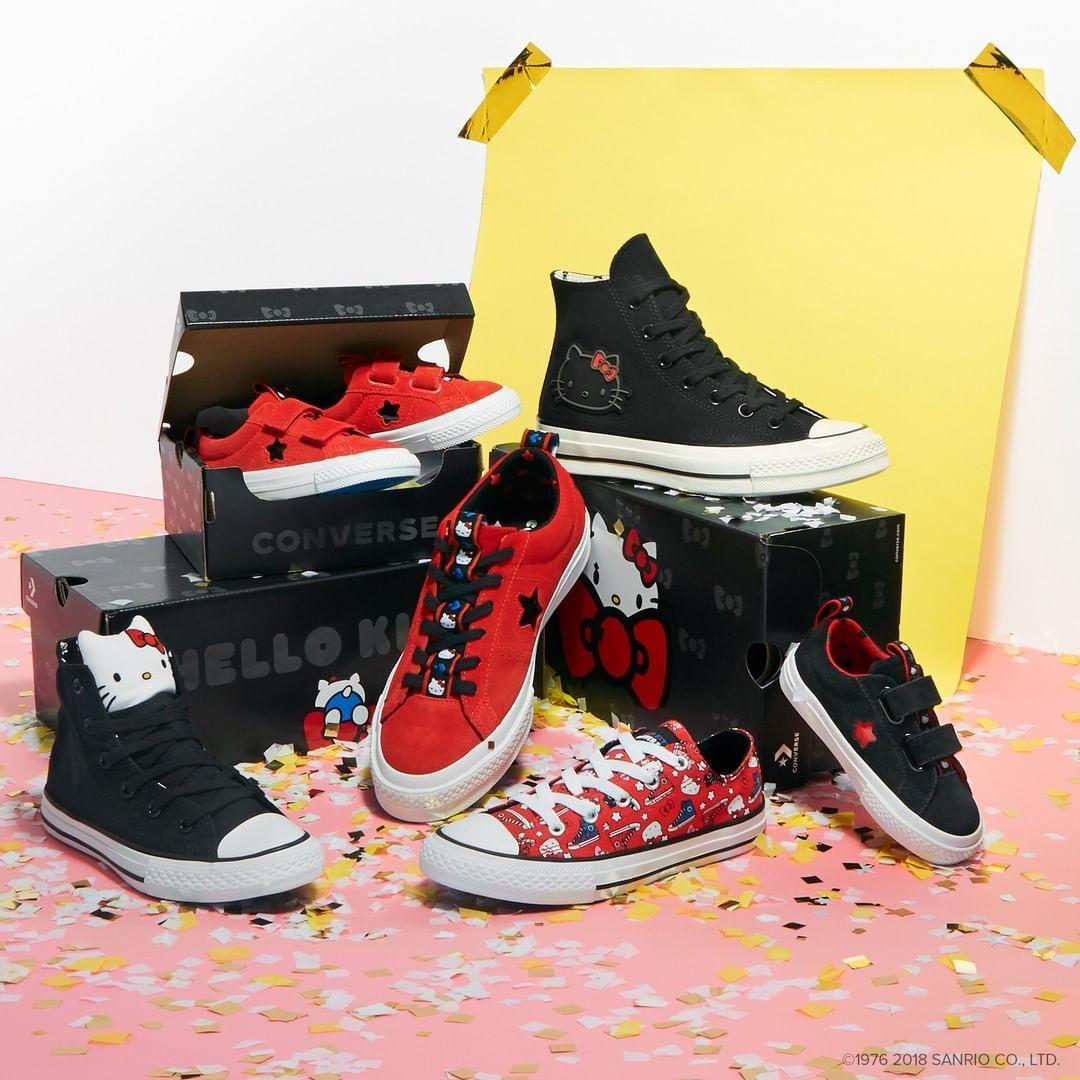 Estas son las Converse de Hello Kitty que vas a pedir a los