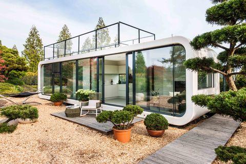 House, Property, Building, Home, Architecture, Real estate, Garden, Botany, Botanical garden, Greenhouse,