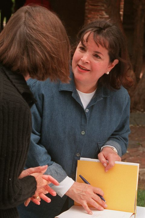 SO.Cookbook.Garten.RDL (5/10/99) (San Juan Capistrano) The Barefoot Contessa Cookbook author Ina Gar
