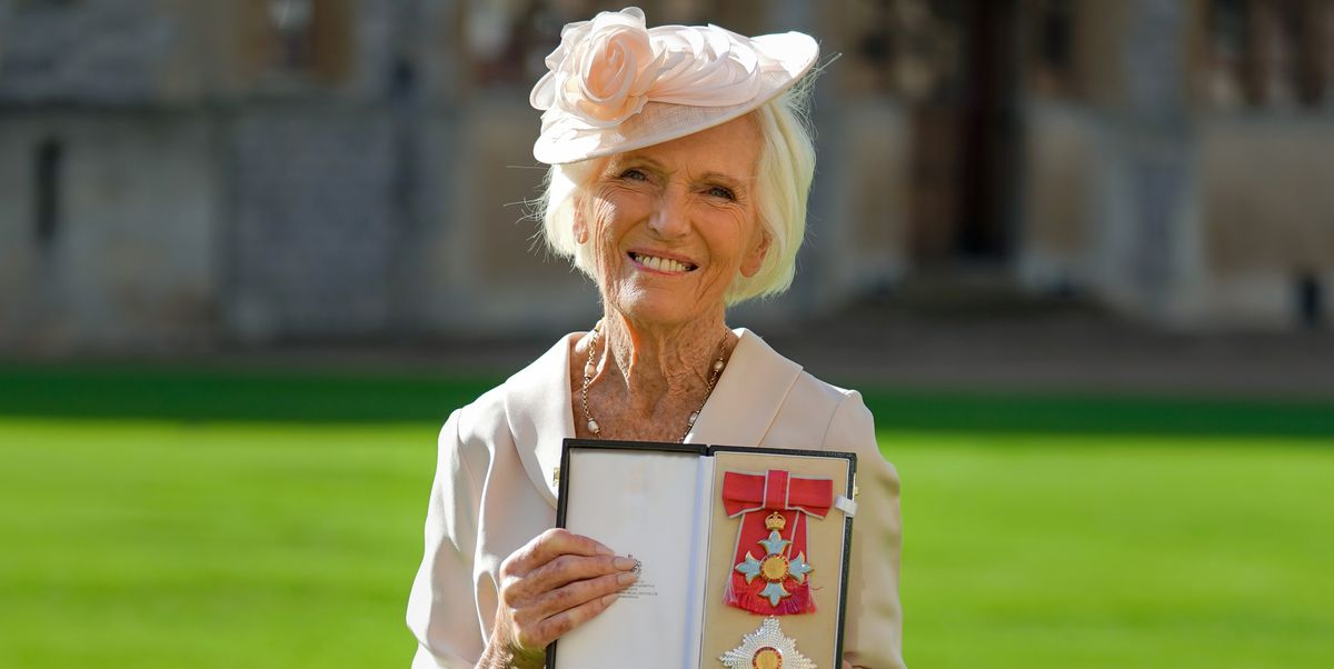 Mary Berry Had the Sweetest Reaction to Being Named a Dame Commander By Prince Charles