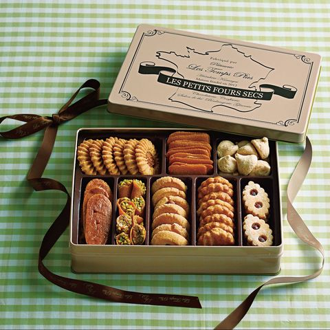 「クッキー缶のお取り寄せ」les temps plus(レタンプリュス)「プティフールセック 8種」