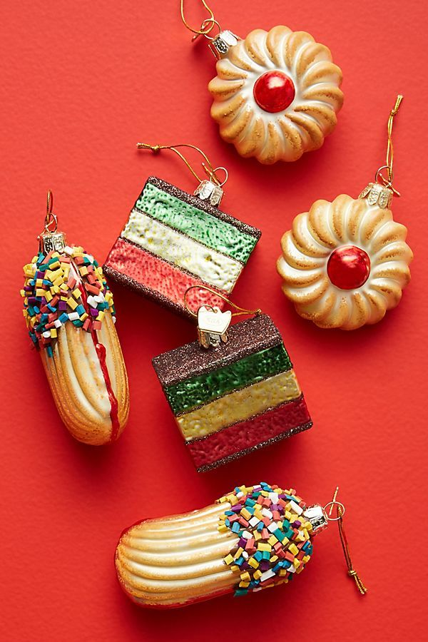 Anthropologie Is Selling Italian Cookie Ornaments That You NEED On Your Tree This Year