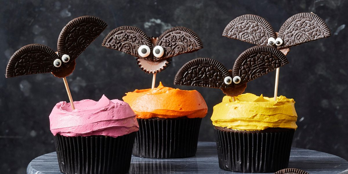 Cookie Bat Cupcakes