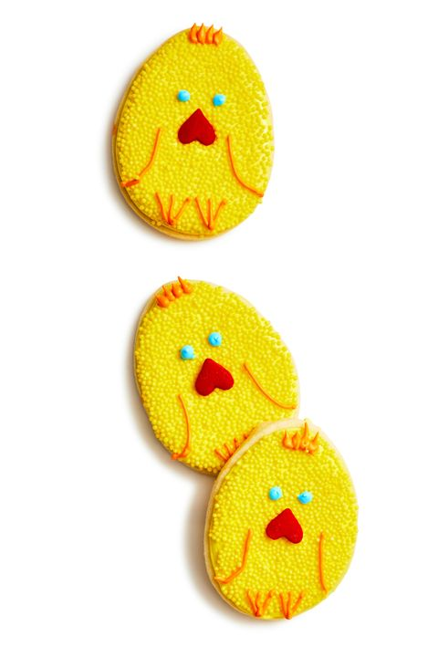 Easter Cookie Ideas- Cookie Chicks recipe