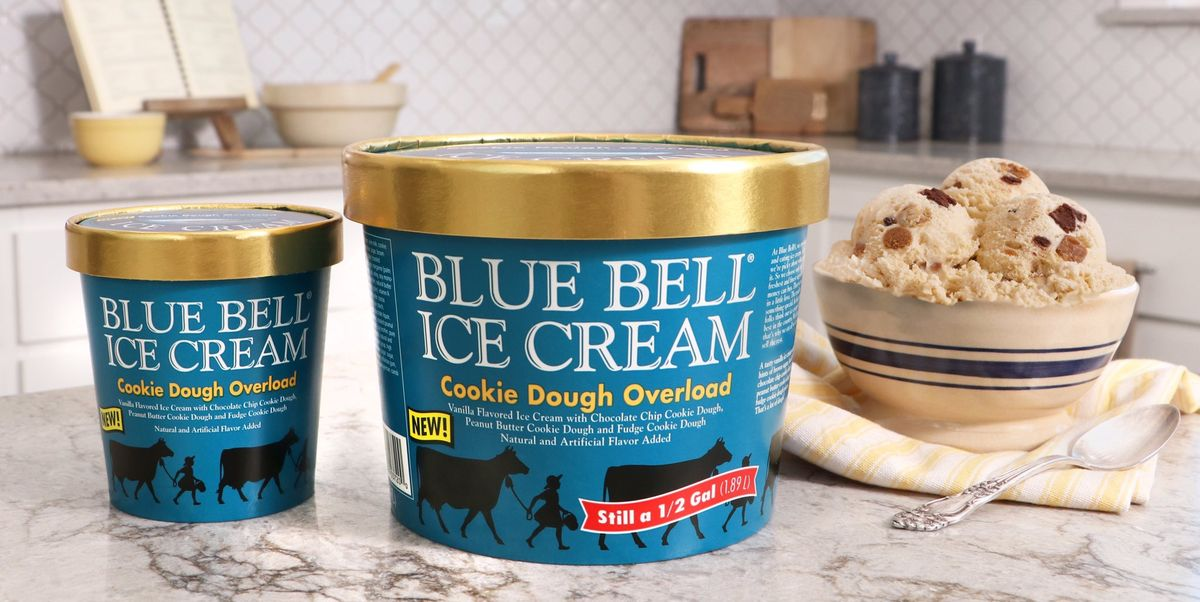 Blue Bell's New Ice Cream Is Filled With 3 Different Kinds Of Cookie Dough