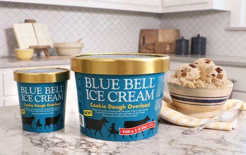 Food, Ice cream, Ingredient, Frozen dessert, Gelato, Dairy, Dish, Cookie dough, Cuisine, Tin,