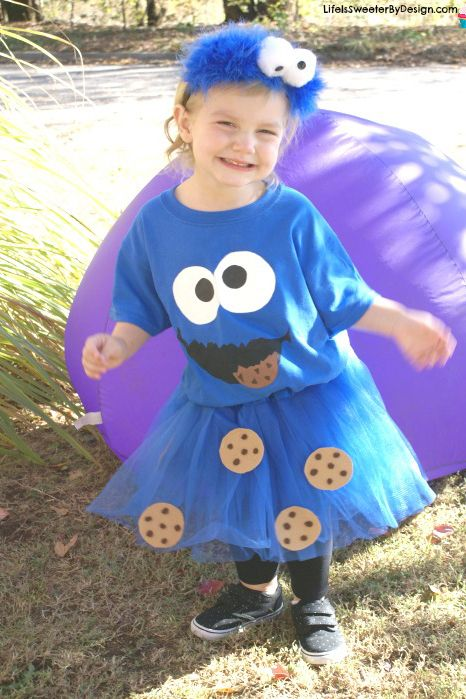 cookie monster toddler halloween costume