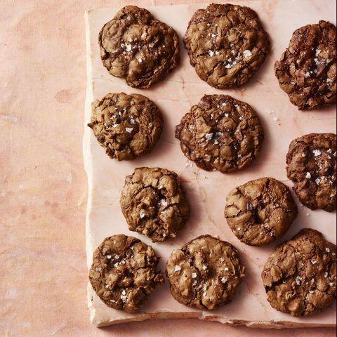 chewy chocolat walnut cookies