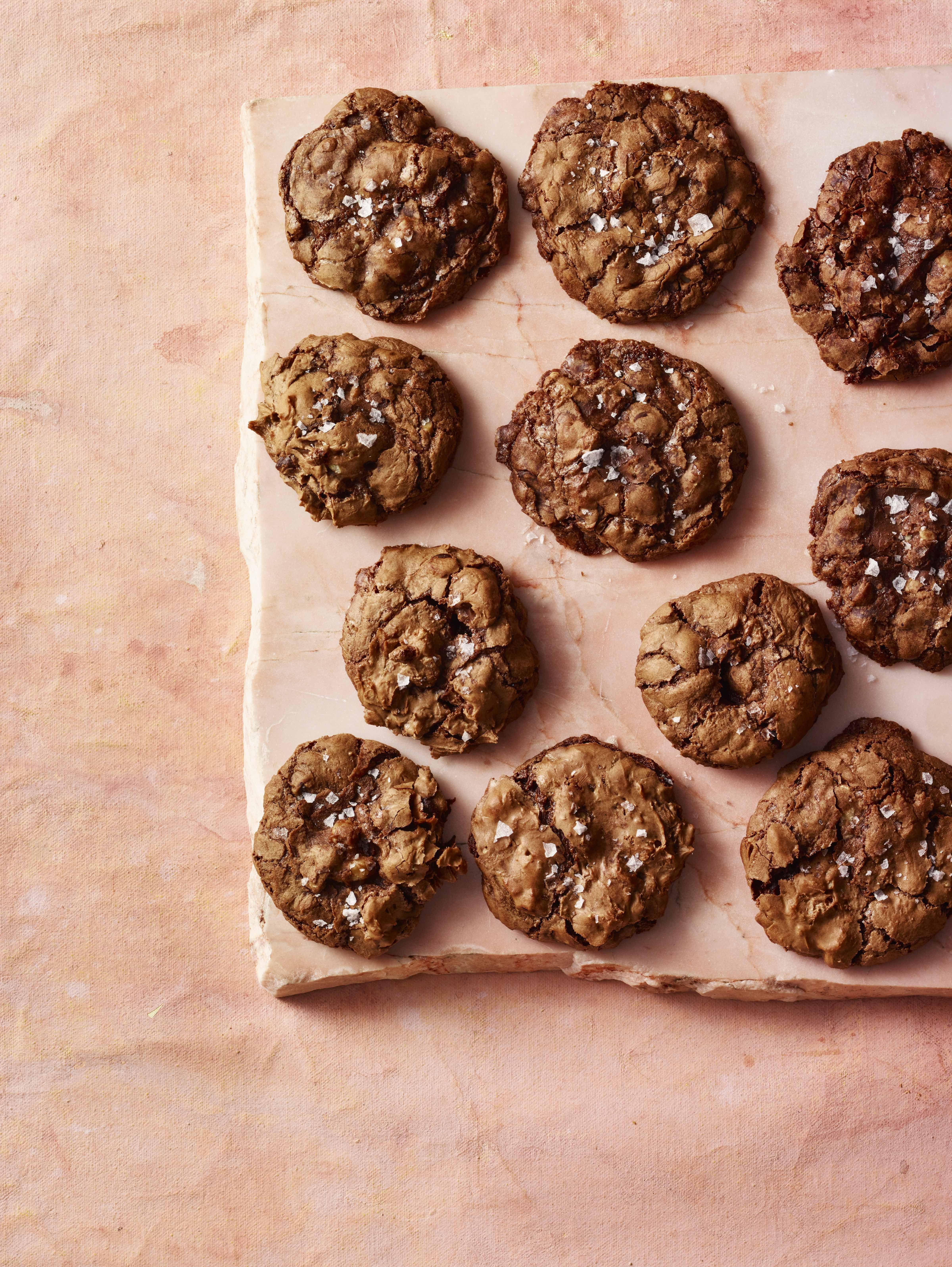 Chewy Chocolate-Walnut Cookies