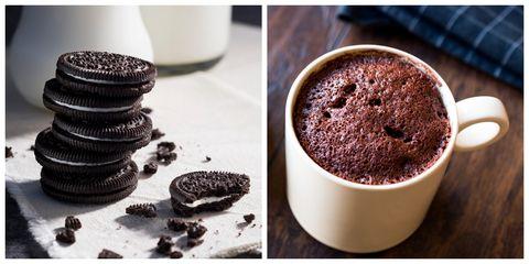 Food, Oreo, Dessert, Cuisine, Soufflé, Dish, Baked goods, Baking, Mousse, Chocolate cake,