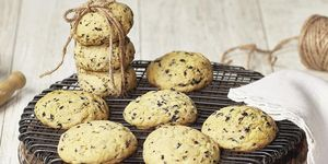 Cookies de aceitunas negras