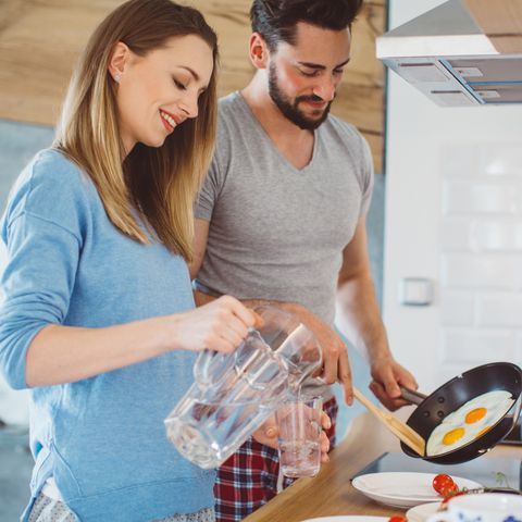 cooking as a couple