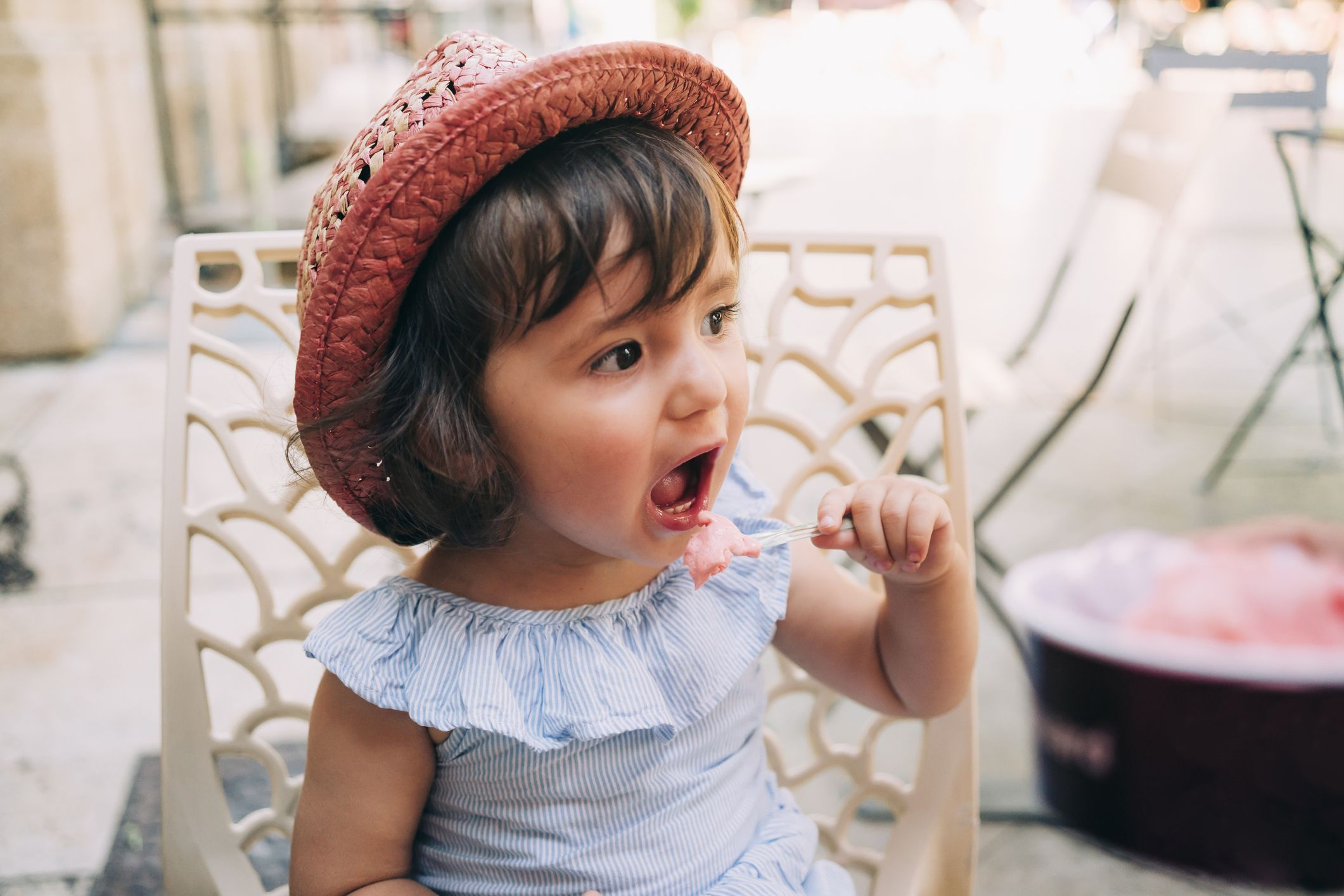 I Wanna Be A Rock Star Knit Hats Baby