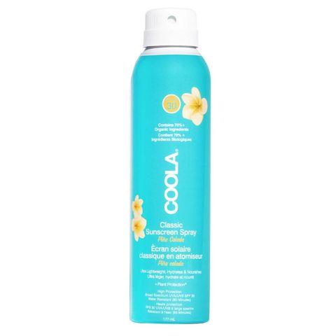 coola kokos zonnebrand spray spf30