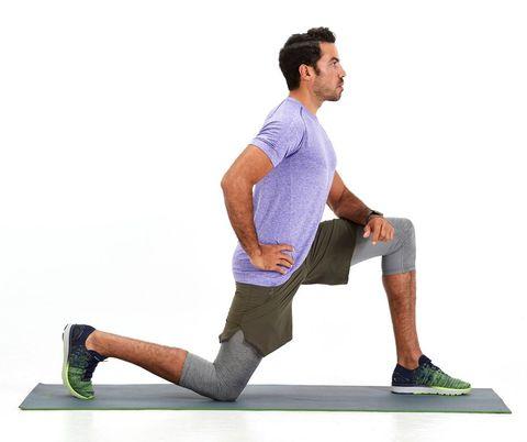 Statisch rekken na het hardlopen doe je zo met deze stetchoefeningen