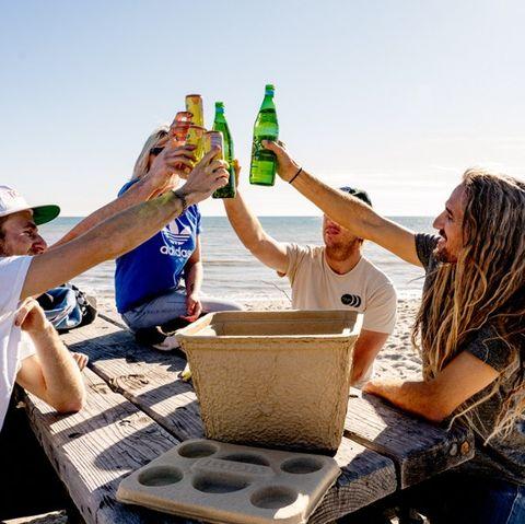 Fun, Tourism, Hand, Vacation, Landscape, Sand,