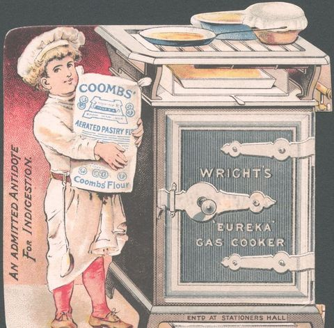 Coombs / Wrights Pastry flour, 1890s.