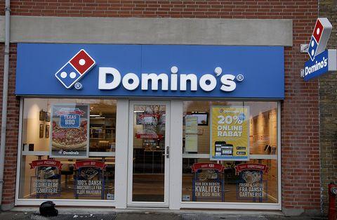 domino's pizza reastauran in copenhagen, denmark