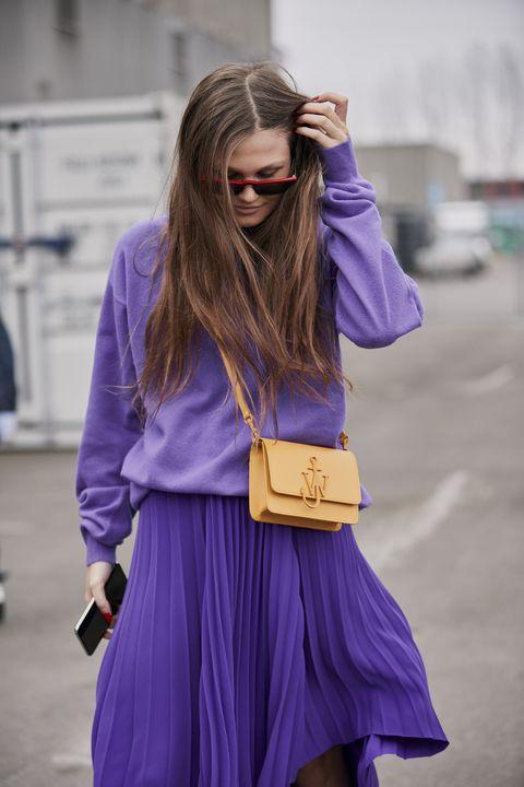 Come Abbinare Viola Lilla E Lavanda In 10 Best Look Di Streestyle