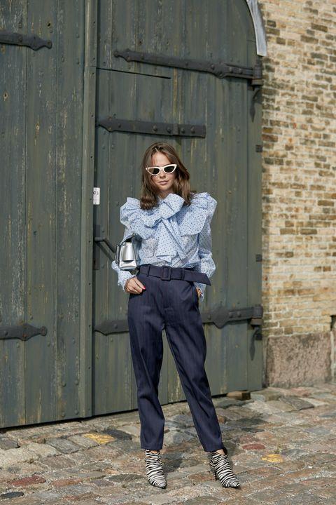 pantaloni a vita alta 2019