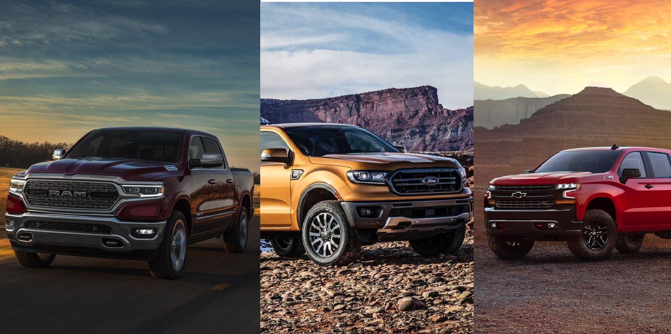 La guerra dei pickup: Ford vs Chevrolet vs Ram