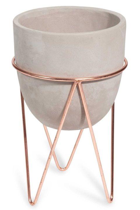 Best Indoor Plant Pot Stands Tall Standing Concrete