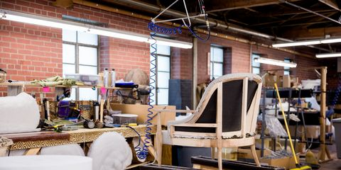 Furniture, Wood, Interior design, Chair, Room, Table, Design, Building, Hardwood, Machine,