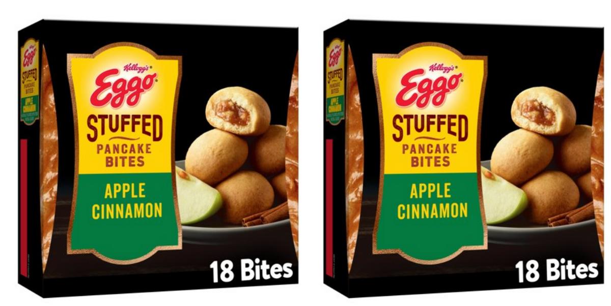 Eggo's Stuffed Pancake Bites Now Come In An Apple Cinnamon Flavor For Fall