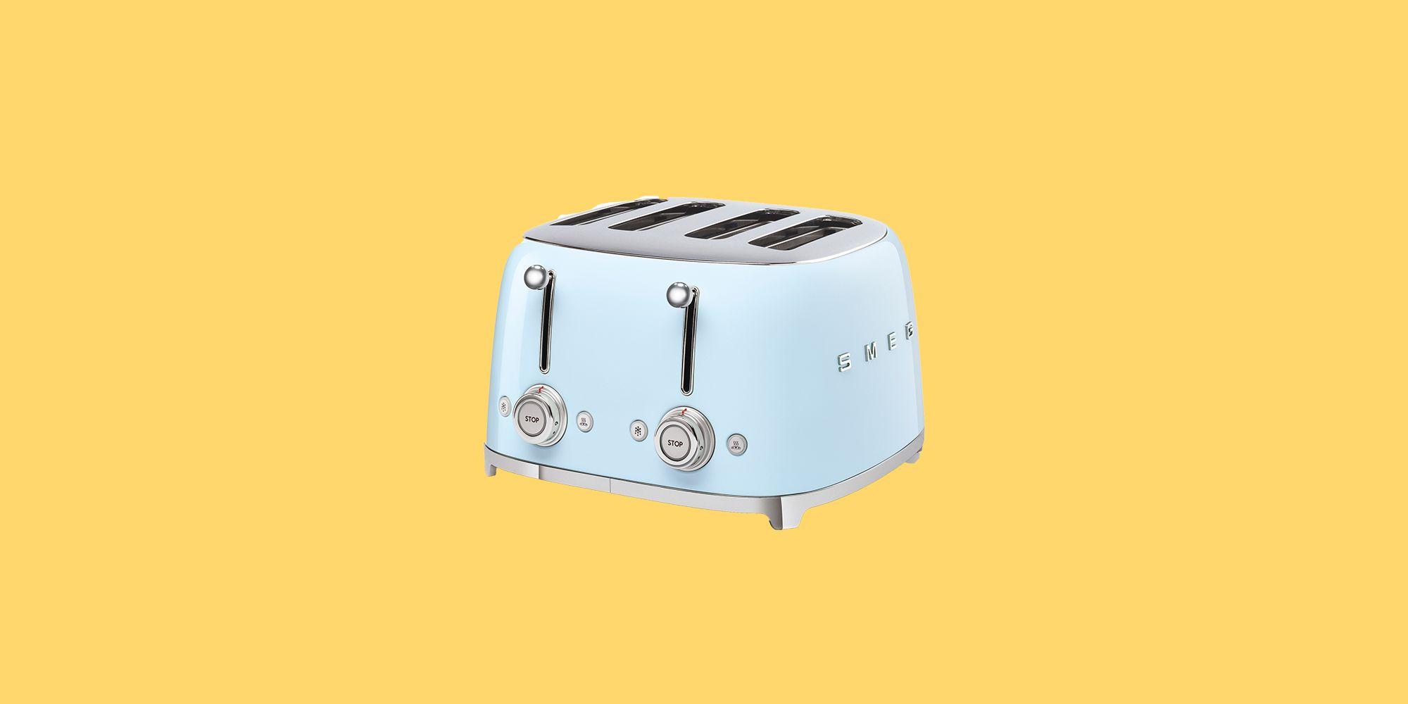 Smeg TSF03 4 Slice Toaster, Black in 2020