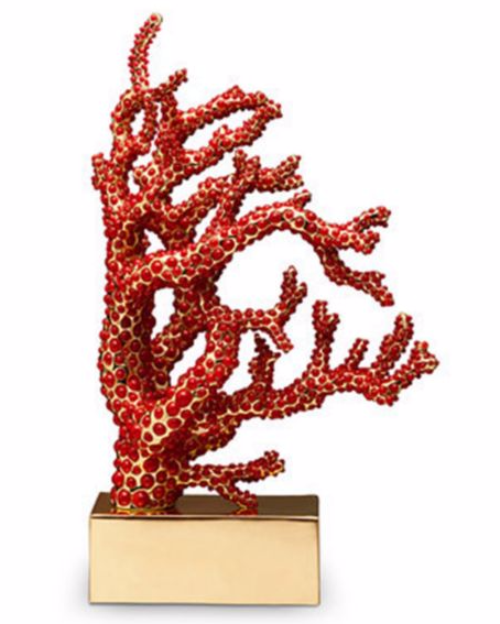 Coral Lamp from Saks Fifth Avenue