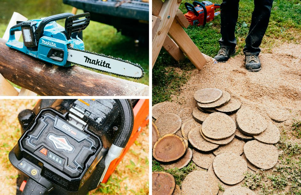 The Best Cordless Electric Chainsaws