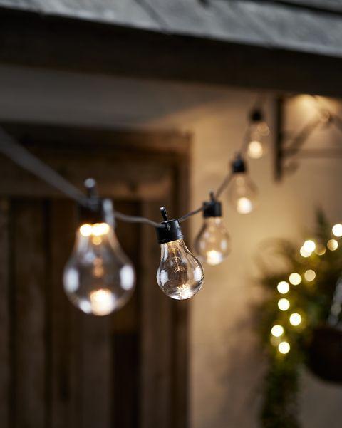 garden festoon lights
