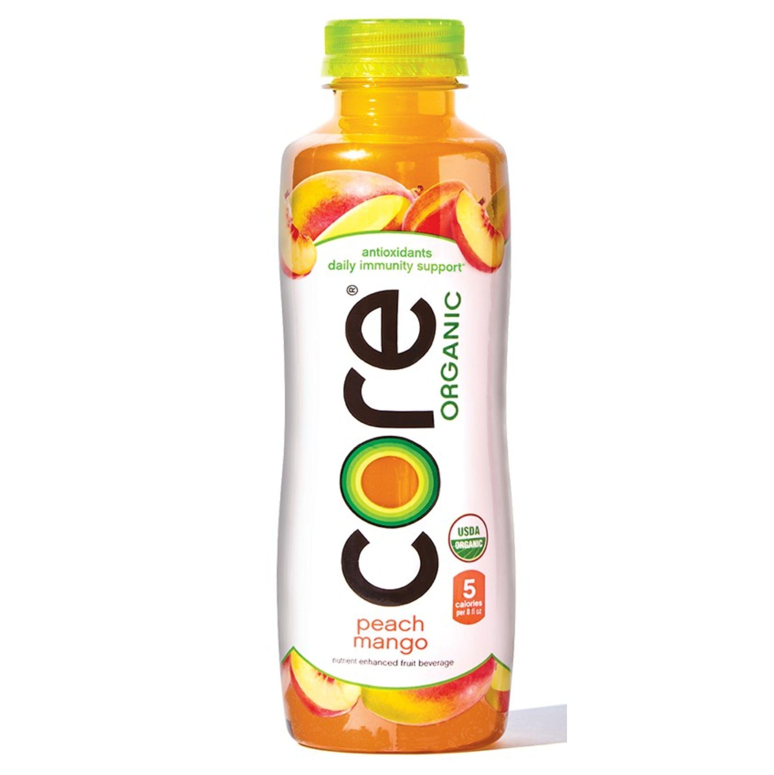 Core Organic peach mango