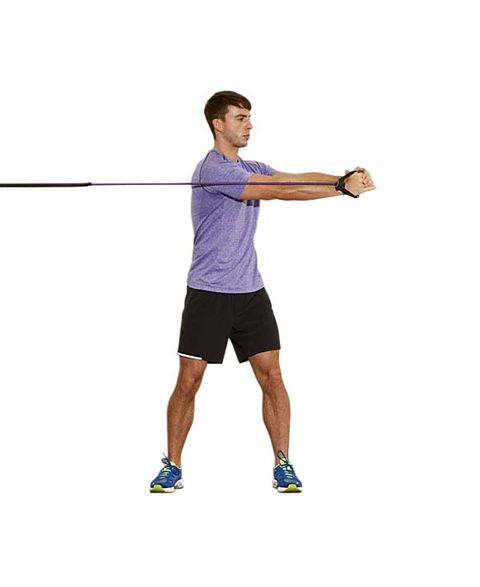 5 Resistance Band Exercises To Work Your Stabiliser Muscles From