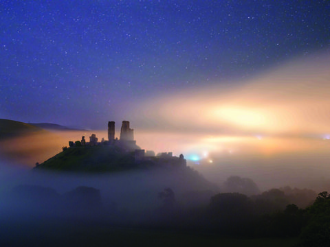 Corfe Castle, Dorset, United Kingdom. Mark Bauer