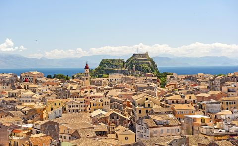 Where is The Durrells filmed? Corfu town, Greece