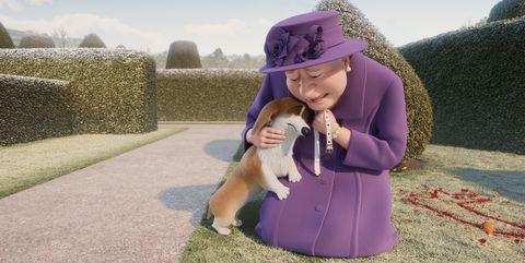 corgi las mascotas de la reina