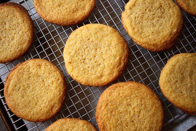 corn cookies   delishcom