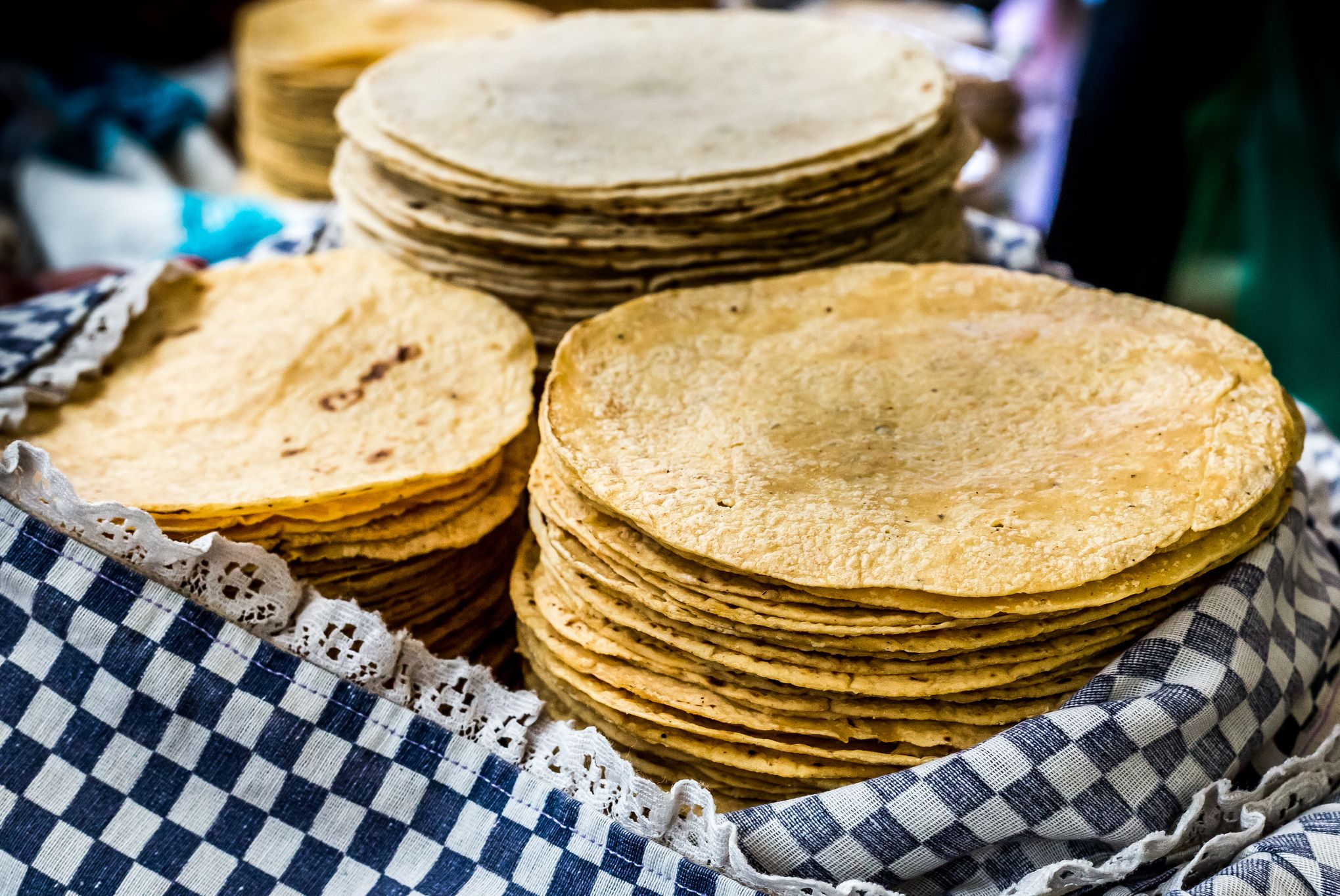 corn and flour tortillas