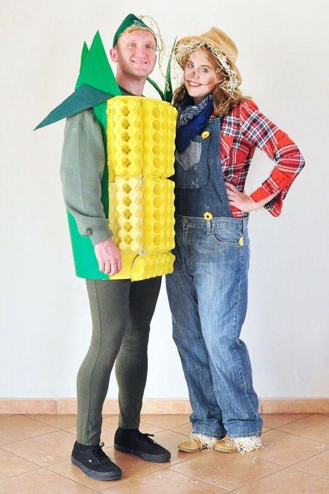 western costume ideas corn scarecrow