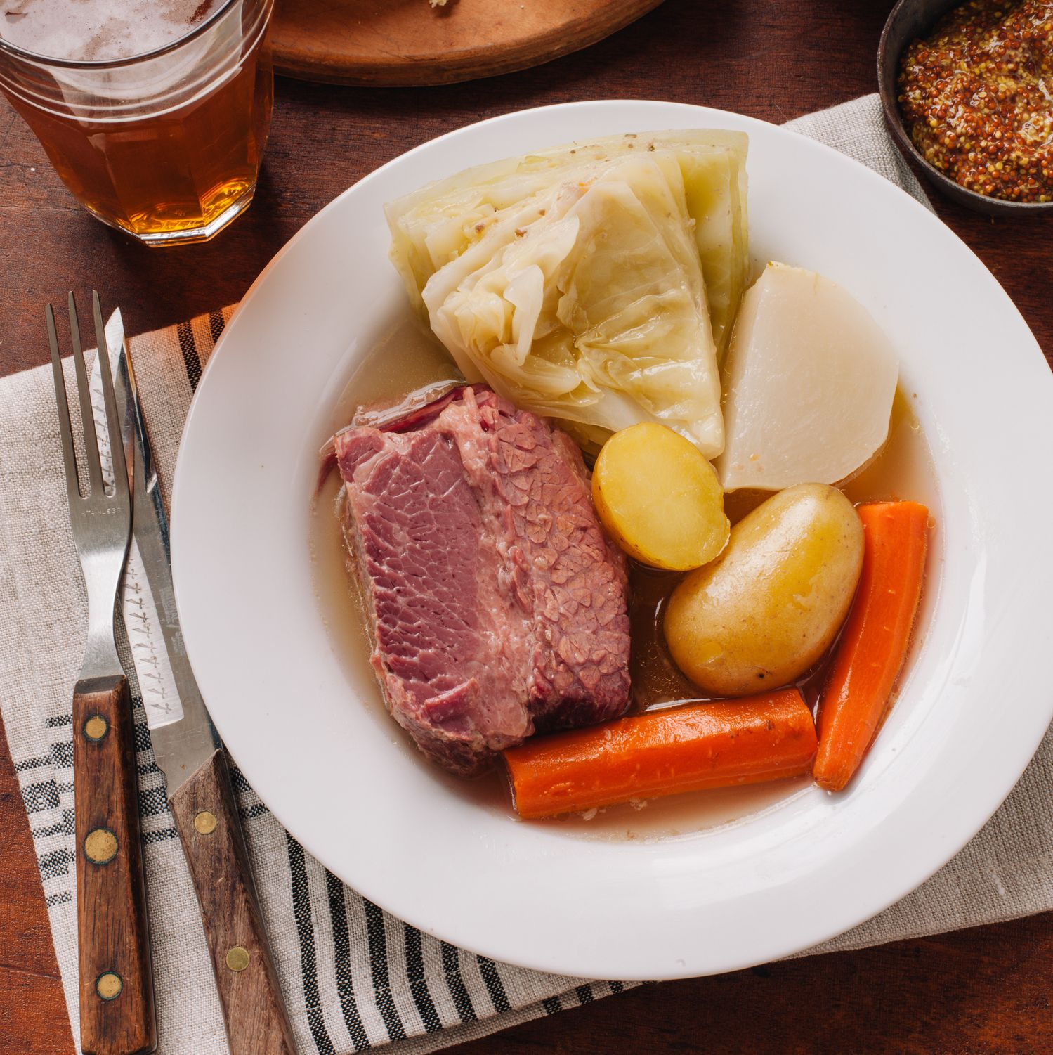 This Corned Beef and Cabbage Recipe Will Complete Your St. Patrick's Day Menu