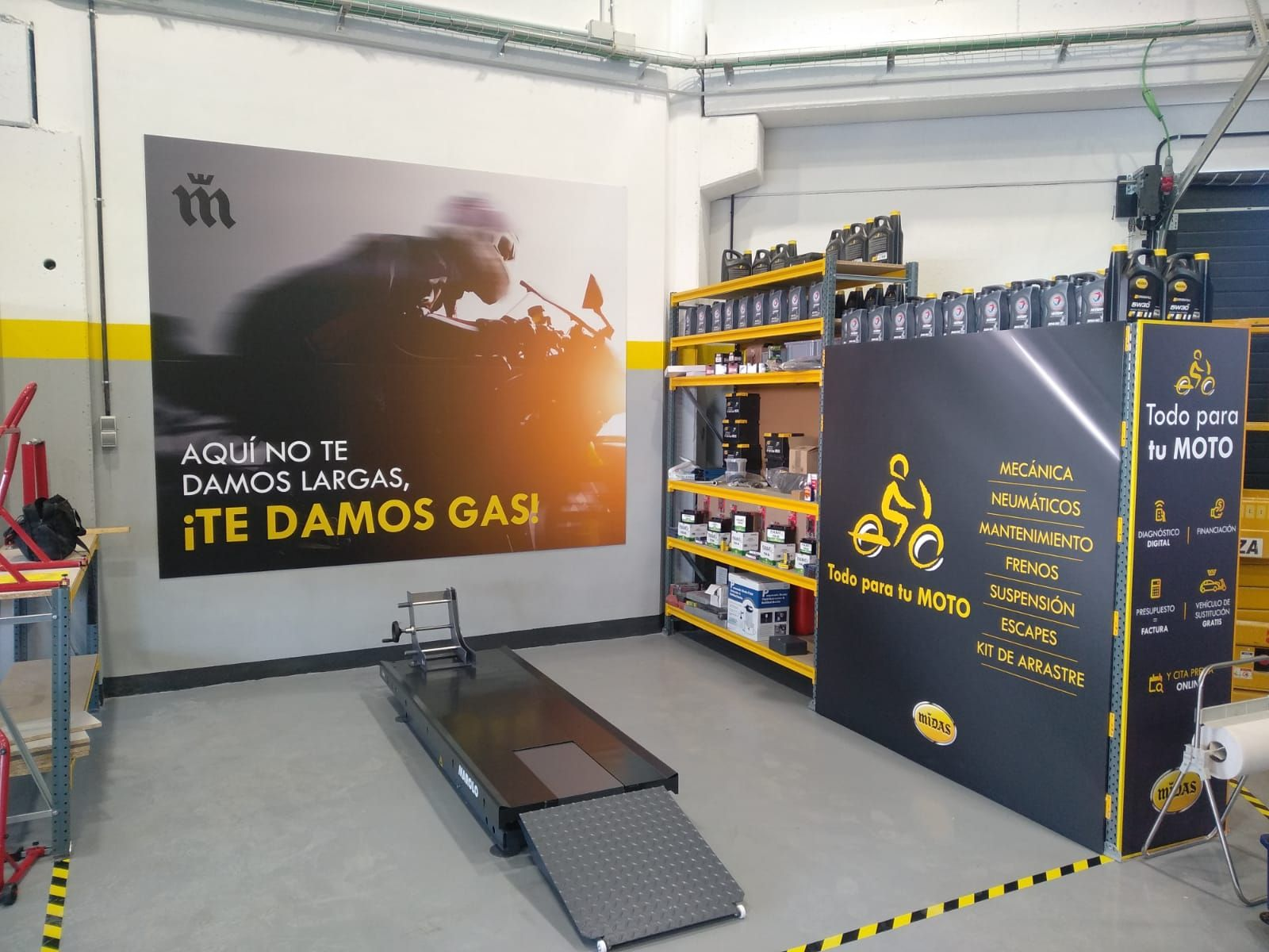 Midas abre en Alcorcón un taller para coches y motos