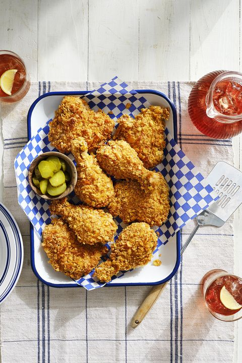 cornflake crusted baked chicken