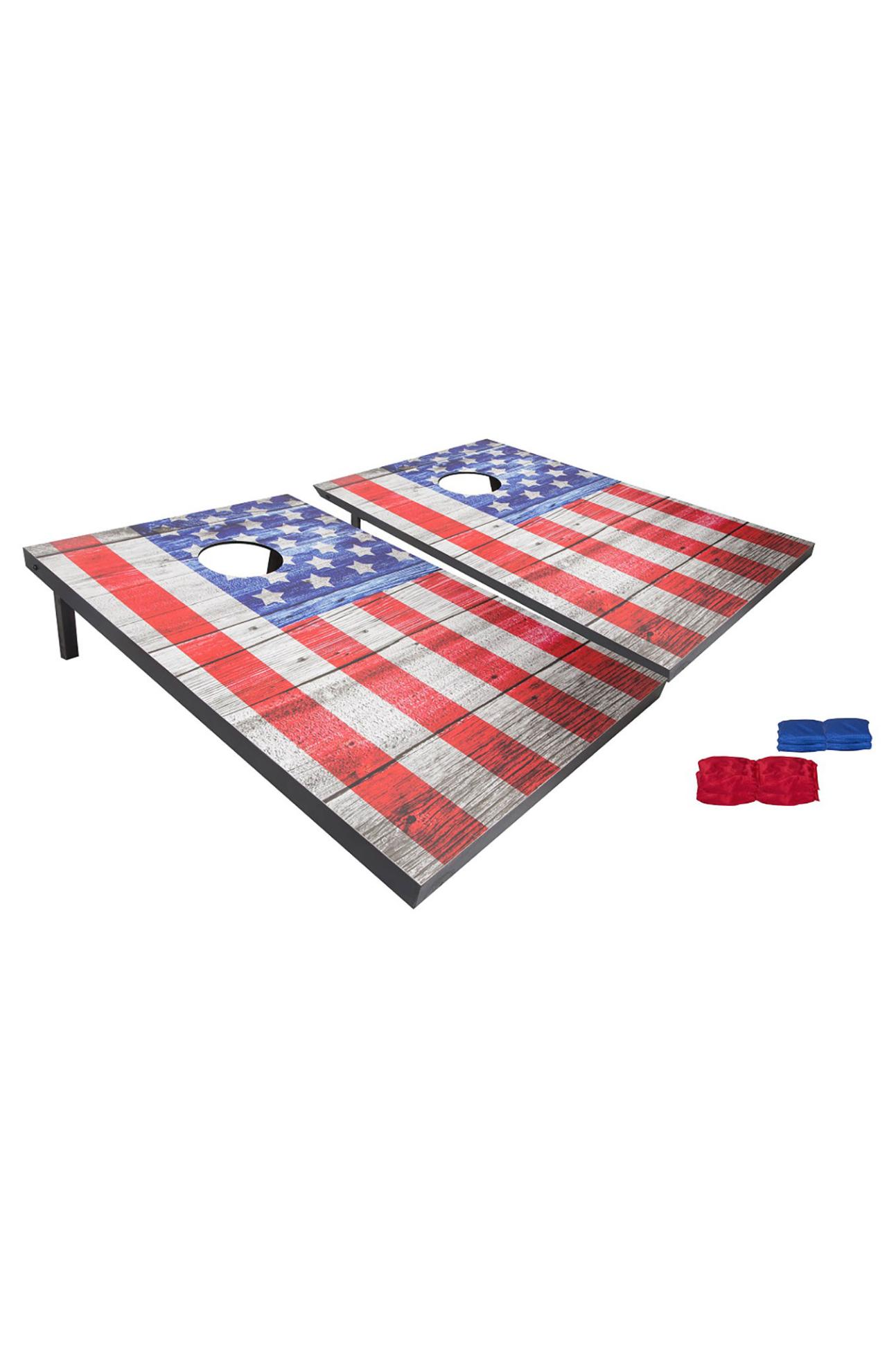 american flagcornhole boards