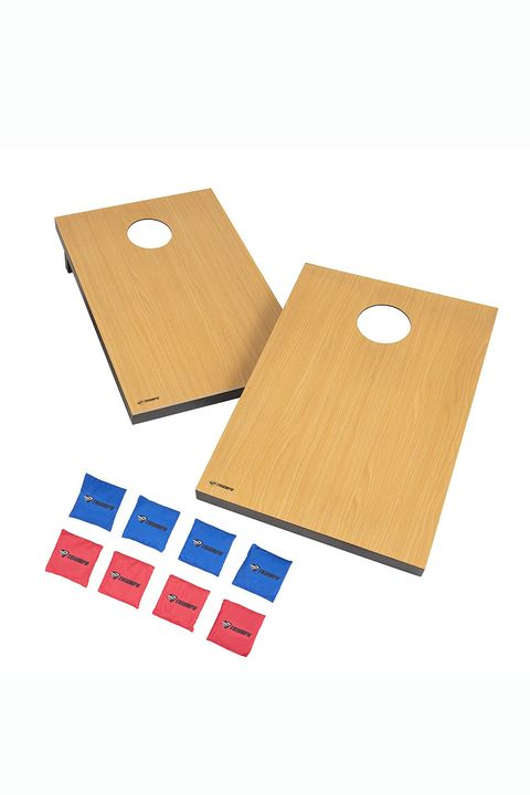 triumph sports portable cornhole set