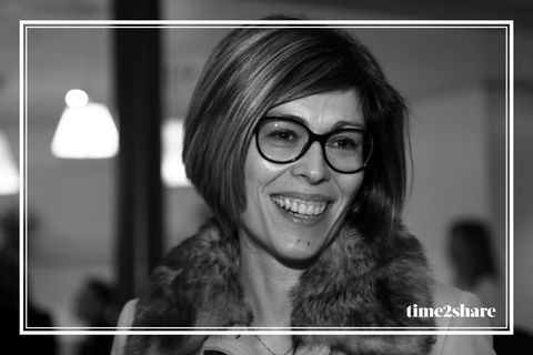 Clothing, Glasses, Hairstyle, Photograph, Outerwear, Jacket, Happy, Facial expression, Style, Jaw,