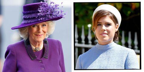 duchess of cornwall princess eugenie